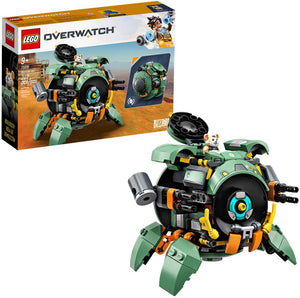 LEGO Overwatch 75976 Wrecking Ball (227 Pieces) Building Kit - Brick Pops