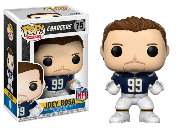 Funko Pop! NFL Joey Bosa #75 Chargers Home Collectible Vinyl Figure 889698201667 B0734WD3FB BrickPops