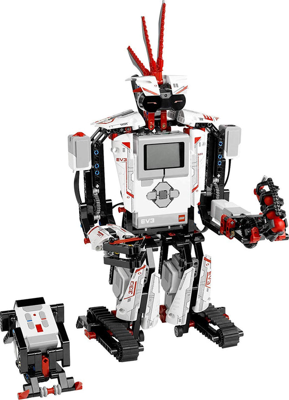 LEGO Mindstorms EV3 31313 Robot Kit (601 pieces) with Remote Control - Brick Pops