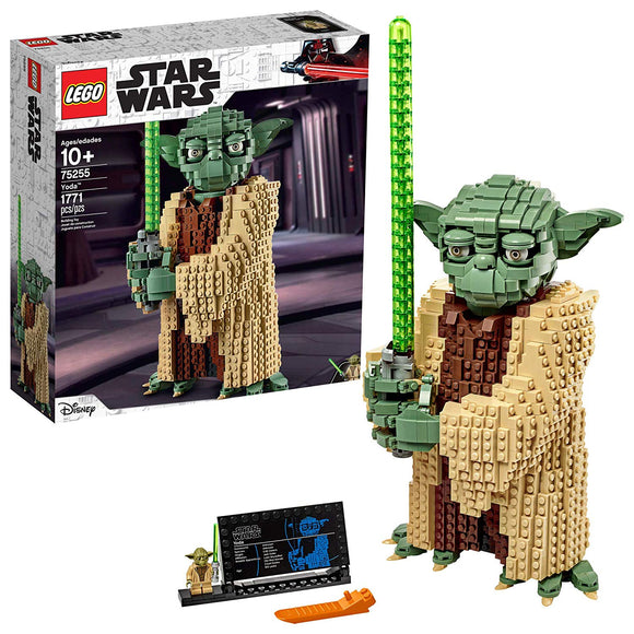 LEGO Star Wars 75255 Yoda (1771 Pieces) Building Kit - Brick Pops