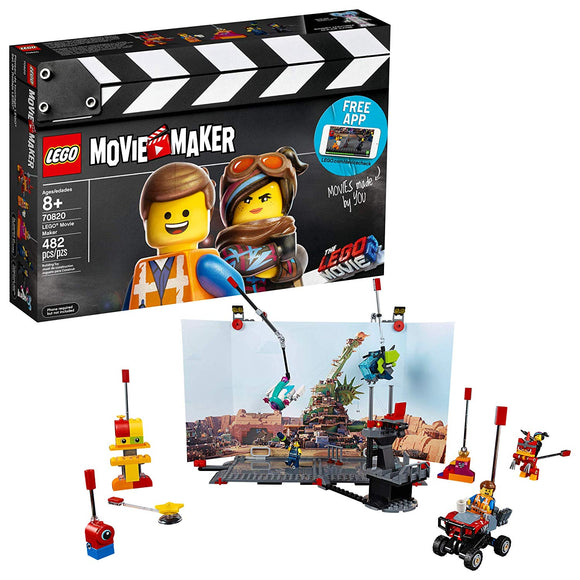 LEGO The Lego Movie 2 70820 Movie Maker (482 Pieces) Building Kit - Brick Pops