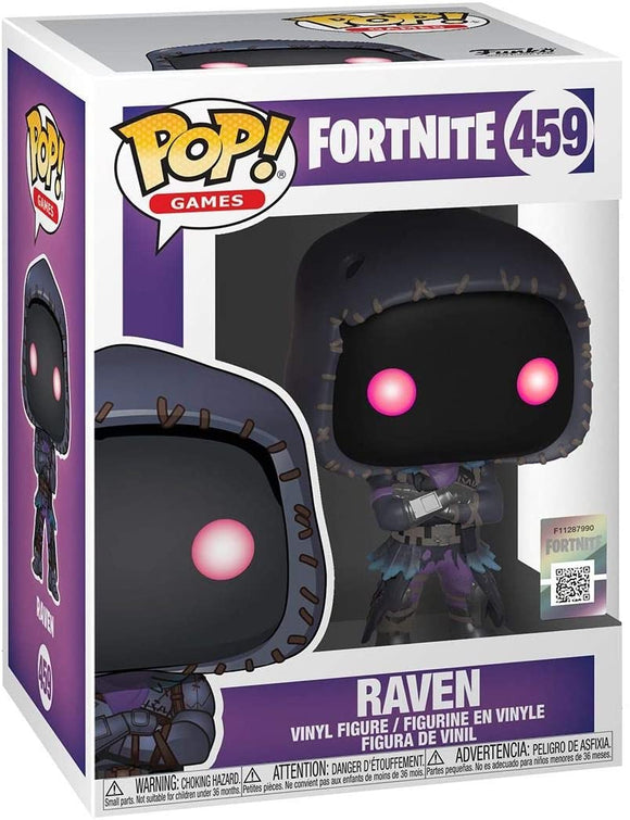 Funko Pop! Games Fortnite Raven #459 Vinyl Figure 889698360203 B07L48JXFR BrickPops