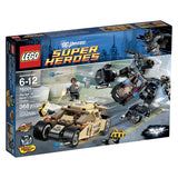 LEGO DC Universe Super Heroes 76001 Tumbler Chase (368 Pieces) Building Kit - Brick Pops