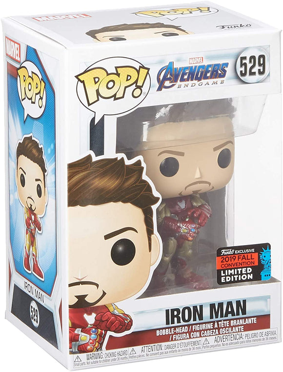 Funko Pop! Marvel Avengers Endgame Iron Man #529 Fall Convention Exclusive Vinyl Figure 889698433631 B07VVRV6DJ BrickPops