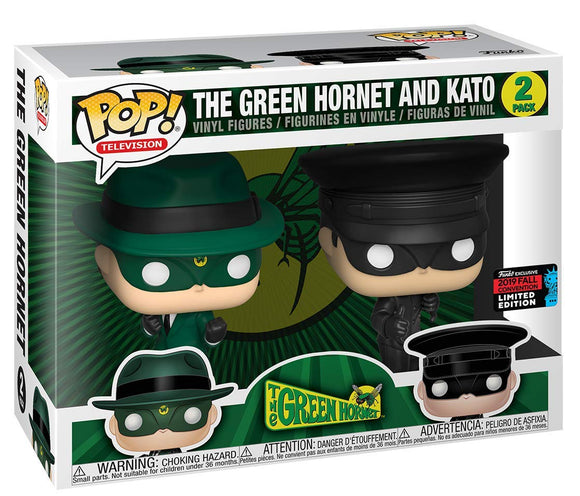 Funko Pop! TV Green Hornet and Kato NYCC Shared Exclusive Limited Edition Vinyl Figure{sku}{barcode}{shop-name}
