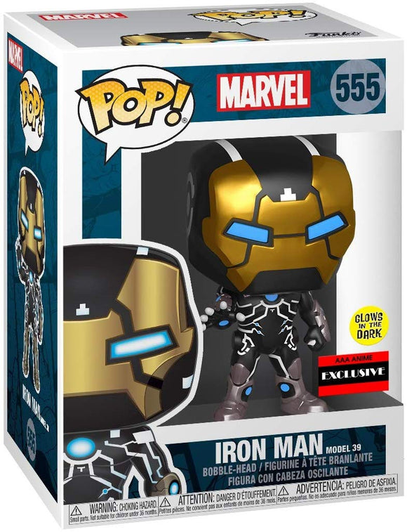 Funko Pop! Marvel Iron Man #555 Model 39 Anime Exclusive 889698439657 B07ZTSG8VN BrickPops