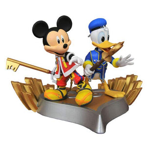 Kingdom Hearts Disney Mickey Mouse Donald Duck Exclusive Figure Statue{sku}{barcode}{shop-name}