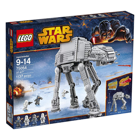 LEGO Star Wars 75054 AT-AT (1137 Pieces) Building Kit - Brick Pops