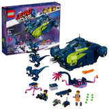LEGO The Movie 2 70835 Rex's Rexplorer (1172 Pieces) Building Kit - Brick Pops