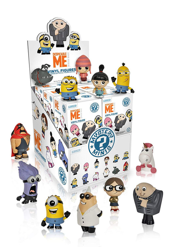 Funko Minis Despicable Me Mystery Minis Vinyl Figure 849803042820 B00NCEF7YU BrickPops