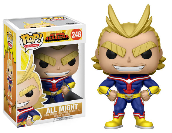 Funko Pop! My Hero Academia All Might #248 Vinyl Figure 889698123815 B071NHMTZ8 BrickPops