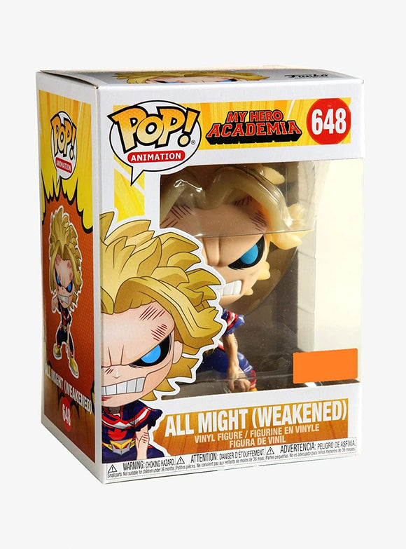 Funko Pop! Animation My Hero Academia All Might #648 Weakened Exclusive 889698447836 B082G71GH9 BrickPops