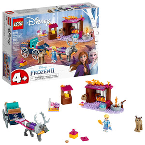 LEGO Disney Frozen II 41166 Elsa's Wagon Carriage (116 Pieces) Building Kit - Brick Pops