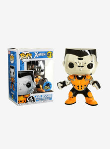 Funko Pop! X-Men Colossus #411 Chrome L.A. Comic Con Exclusive Vinyl Figure{sku}{barcode}{shop-name}