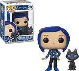 Funko Pop! Movies Coraline with Cat #422 Multicolor Collectible Vinyl Figure 889698328111 B07FV8478T BrickPops