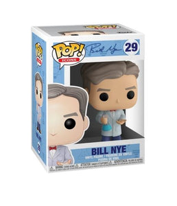 Funko Pop! AD Icons Bill Nye Bill Nye #29 The Science Guy Vinyl Figure 889698372886 B07SPFKF9T BrickPops