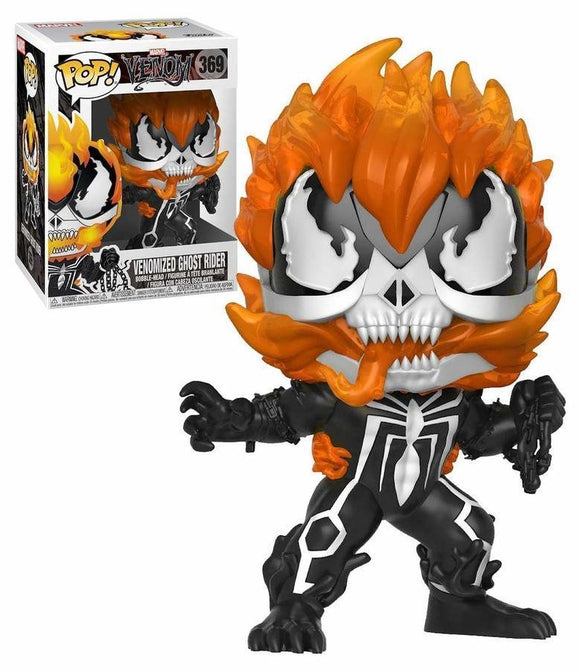 Funko Pop! Marvel Venom Venomized Ghost Rider #369 Special Edition Vinyl Figure 889698326896  BrickPops