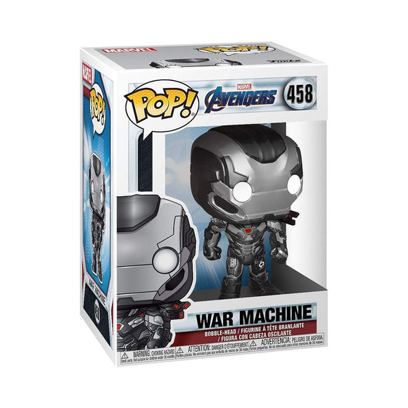 Funko Pop! Marvel Avengers Endgame Machine #458 Multicolor Vinyl Figure 889698366731 B07KPTBSP2 BrickPops