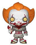 Funko Pop! Horror IT Pennywise #543 Multicolor Collectible Amazon Exclusive Vinyl Figure 889698295277 B07B1R2JFM BrickPops