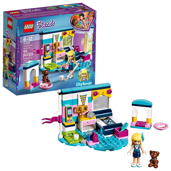 LEGO Friends 41328 Stephanie's Bedroom (95 Pieces) Building Set - Brick Pops
