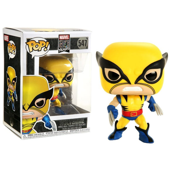 Funko Pop! Marvel 80 Years Wolverine #547 Vinyl Figure 889698441551 B07RPB593G BrickPops