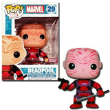 Funko Pop! Marvel Deadpool #29 Red Vinyl Figure 830395032597 B00CFXCDIC BrickPops