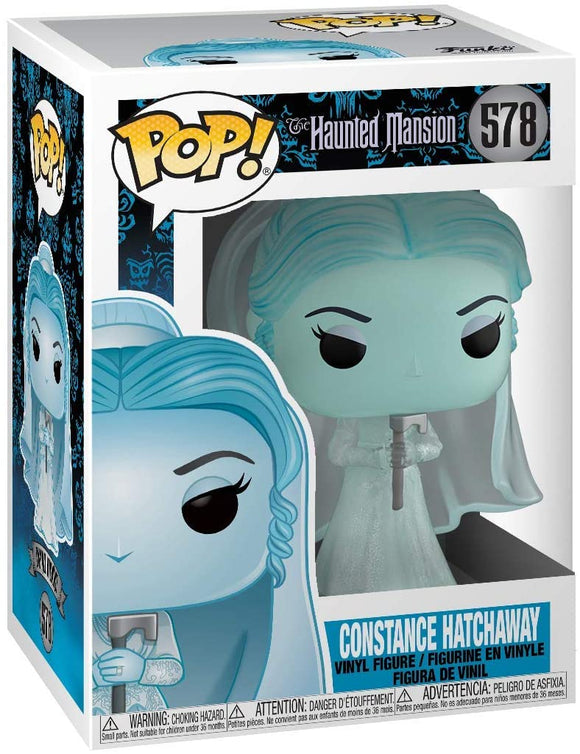 Funko Pop! Disney Haunted Mansion Constance #578 Bride Vinyl Figure 889698421508 B07SQXGRSN BrickPops