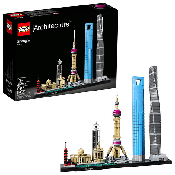 LEGO Architecture 21039 Shanghai Skyline (597 Pieces) Building Kit{sku}{barcode}{shop-name}