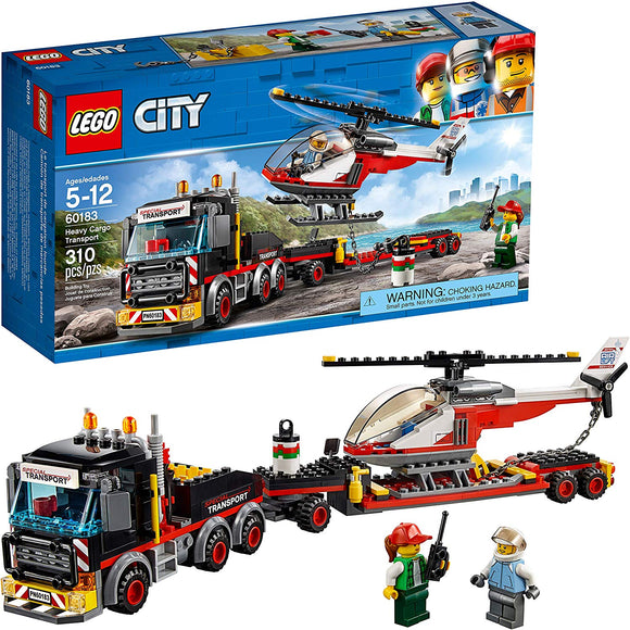 LEGO City 60183 Heavy Cargo (310 Pieces) Building Kit{sku}{barcode}{shop-name}