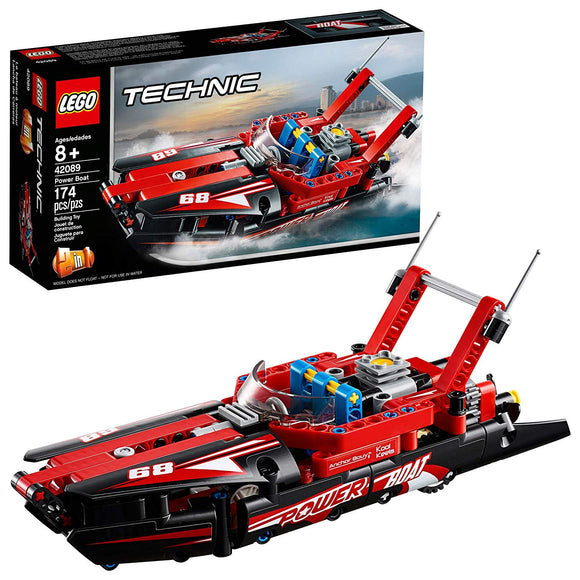 LEGO Technic 42089 Power Boat (174 Pieces) Building Kit - Damaged Box - Brick Pops