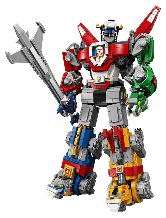 LEGO Ideas 21311 Voltron (2321 Pieces) Building Kit - Brick Pops