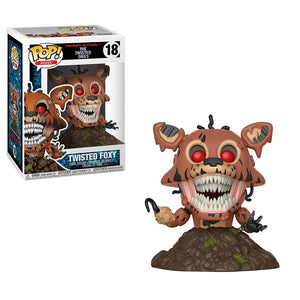 Funko Pop! Books Five Nights at Freddy'sTwisted Foxy #18 Multicolor Collectible Vinyl Figure 889698288071 B079788L81 BrickPops