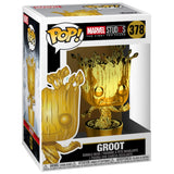 Funko Pop! Marvel Studios 10 Groot #378 Multicolor Gold Chrome Collectible Vinyl Figure 889698335140 B07DFCBK7L BrickPops
