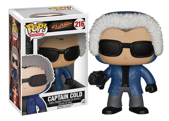 Funko Pop! TV The Flash Captain Cold #216 Action Figure Vinyl Figure{sku}{barcode}{shop-name}