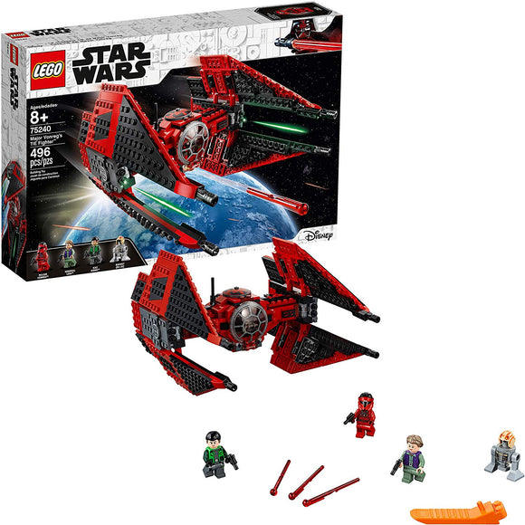 LEGO Star Wars Resistance 75240 Major Vonreg's (496 Pieces) Building Kit - Brick Pops