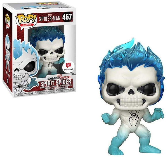 Funko Pop! Spider-Man Spirit Spider #467 Exclusive Vinyl Figure{sku}{barcode}{shop-name}