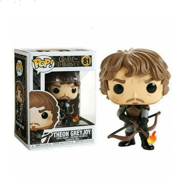 Funko Pop! Game of Thrones Theon with Flaming Arrows #81 889698448215 B07RVLFG84 BrickPops