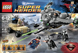 LEGO Superheroes 76003 Superman Battle of Smallville (418 Pieces) Building Kit - Brick Pops