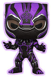Funko Pop! Marvel Black Panther Black Panther #273 Purple Glow Target Exclusive Vinyl Figure 889698330961 B07G6TCHQT BrickPops