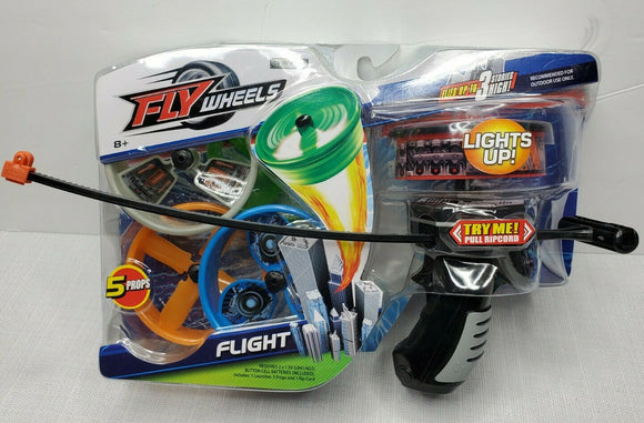 FLY Wheels Lights Up! Flight Launcher and RipCord