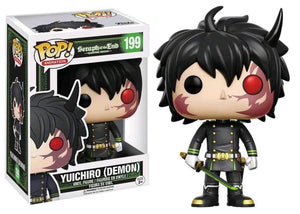 Funko Pop! Anime Seraph of the End Yuichiro #199 Demon Exclusive Vinyl Figure 889698125789 B06WD5RLKW BrickPops