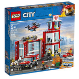 LEGO City 60215 Fire Station (509 Pieces) Building Kit - Open Box - Complete{sku}{barcode}{shop-name}