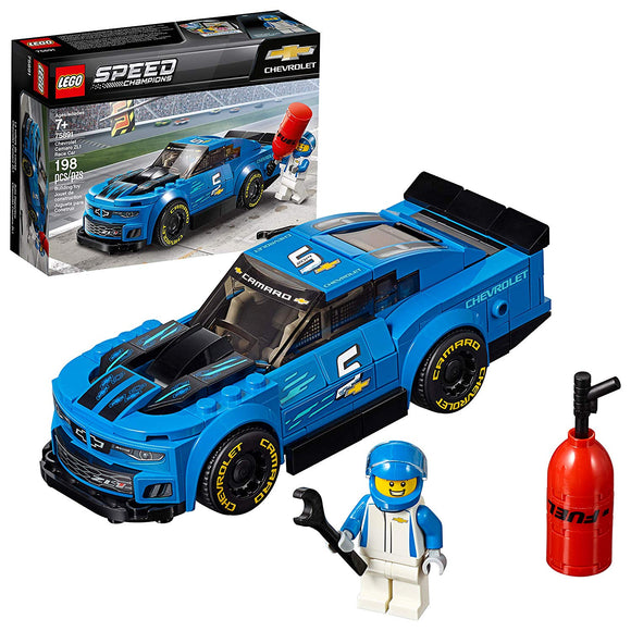 LEGO Speed Champions 75891 Chevrolet Camaro ZL1 (198 Pieces) Building Kit - Damaged Box - Brick Pops
