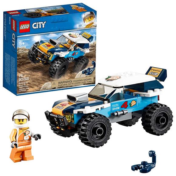 LEGO City 60218 Desert Rally Racer (75 Pieces) Building Kit - Damaged Box{sku}{barcode}{shop-name}