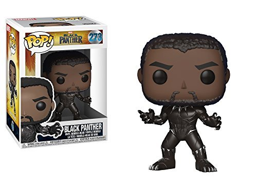 Funko Pop! Marvel Black Panther Movie Black Panther #273 Collectible Vinyl Figure 889698231299 B0778YLP96 BrickPops