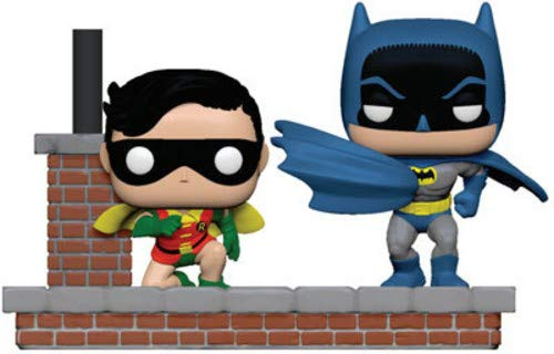 Funko Pop! Comic Moment Batman 80th 1964 New Look Batman and Robin #281 Vinyl Figure 889698372565 B07MZNS324 BrickPops