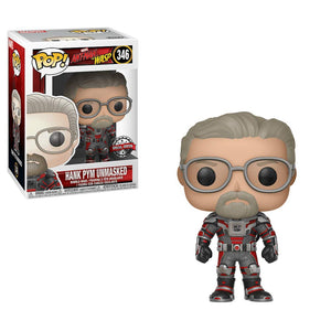 Funko Pop! Marvel Ant-Man & The Wasp Unmasked Hank Pym #346 Hot Topic ExclusiveExclusive 889698308014 B07FKV6NDV BrickPops