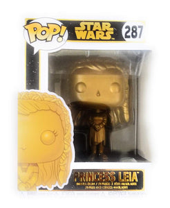 Funko Pop! Star Wars Princess Leia #287 Gold Exclusive Vinyl Figure{sku}{barcode}{shop-name}