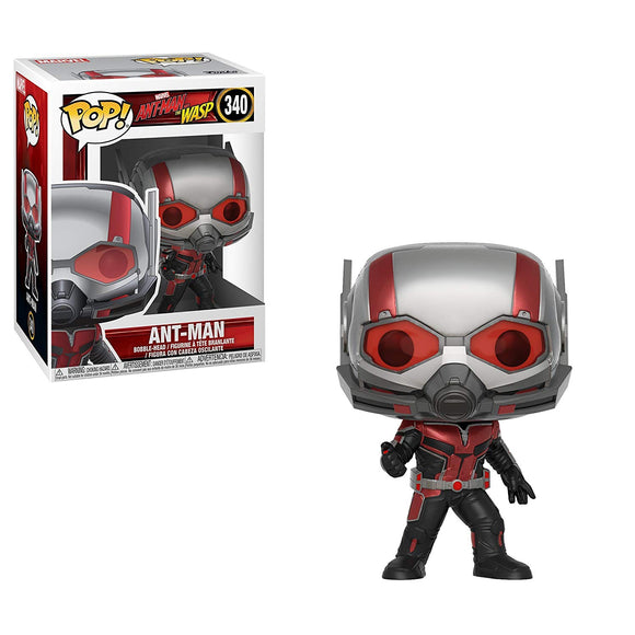 Funko Pop! Marvel Ant-Man & The Wasp Ant-Man #340 Vinyl Figure 889698307246 B07CHVKVPM BrickPops