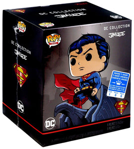 Funko Pop! DC Heroes Superman for Tomorrow Collection by Jim Lee Vinyl Figure + T-Shirt (L) 889698397704  BrickPops